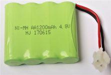 Batérie 4.8V 1200mAh Ni-MH