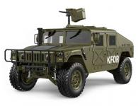 RC HUMMER - americkej vojenskej vozidlo so zvukovým a svetelným systémom.