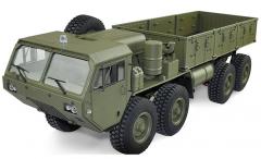 RC MilitaryTruck - Mega Vojenský Nákladiak 8 x 8 1:12 RTR - plne kovová verzia - exkluzívny darček.