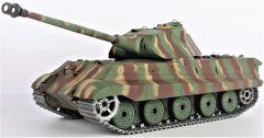RC Tank 1:16 German King Tiger 2.4GHz, dym. a zvuk efekty, oceľ. doplnky, strieľa guľôčky