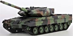RC Tank 1:16 LEOPARD 2A6, dym. a zvuk. efekty, strieľa guľôčky
