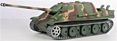 RC TANK German Jagdpanther 1:16, dym. a zvuk. efekty, oceľové doplnky i pásy, strieľa guľôčky