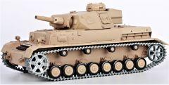 RC TANK German Panzer IV (F Type) 1:16 zvuk. efekty, oceľové doplnky, strieľa guľôčky