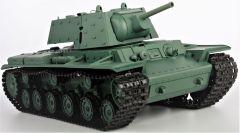 RC TANK Russia KV-1S Ehkranami, 1:16, BBS, dym. a zvuk. efekty, armádny zelená HENG LONG