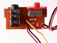 Konektor k základovej doske pre kameru s vypínačom ON / OFF pre modely dronov Syma 8