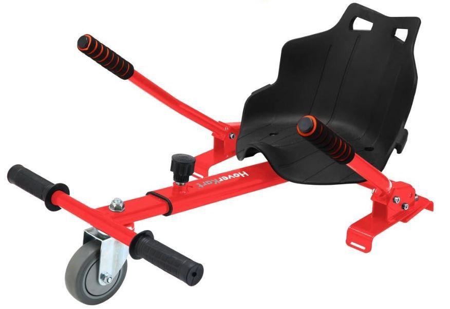 Hoverkart - EXKLUZÍVNE vozítka! červené RCskladem