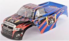 Kabína Pre RC Monster Truck Super Racing 1:10, modrá