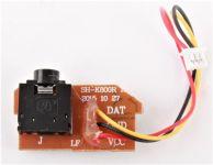 Tlačený spoj s konektorom do kamery pre Dron Koome K800 s HD kamerou