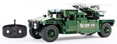 RC stavebnica Mechanical Master Raketový truck s pohyblivým odpalovačom 2.4G