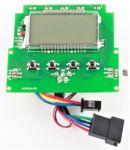 Displej riadidiel s prednými LED diódami pre elektrokoloběžku ELEKTRA 350W
