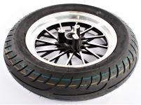 """Predné koleso vrátane pneumatiky 130 / 70mm 12 """"pre elektrokoloběžky SUPER CHOPPER ECO HIGHWAY 2000W"""