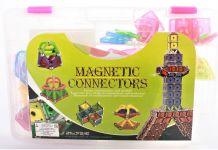 Interaktívne magnetická stavebnica Geometrické tvary 150 dílů