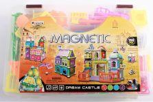 Interaktívne magnetická stavebnica ZÁMOK 200ks