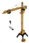 Věžový jeřáb kovový se zvuky a světly a spoustou funkcí na dálkové ovládání