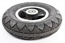 Predné koleso - 3 Loukotová ráfik s pneumatikou 200 x 50 mm pre skladacie elektrokoloběžku FASTER 50