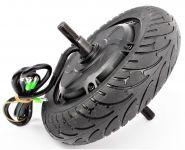Zadné koleso s motorom a gumou pre skladacie elektrokoloběžku FASTER 500W