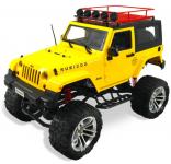 JEEP WRANGLER RUBICON s pevnou strechou 48cm 4x4 s dvojstupňovou prevodovkou, žltý