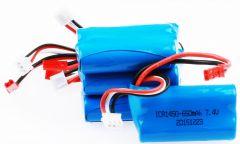 Baterie 7.4V 650mAh Li-Ion