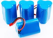 Batérie 9.6V 1000mAh Li-Ion (sada 4ks Li-Ion batériou) pre RC Autá