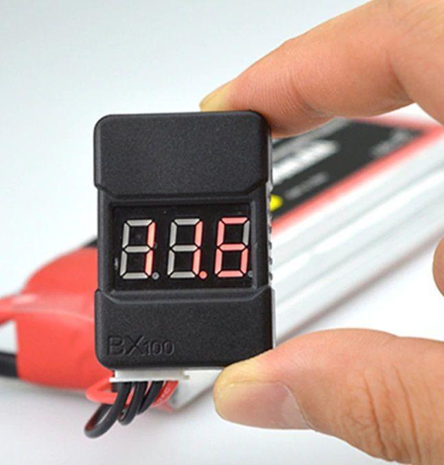 Monitor napětí Li-Pol baterií 1-8S
