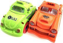 Dva kovové modely aut
